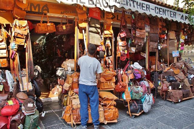 Krásné kožené kabelky pro různé příležitosti