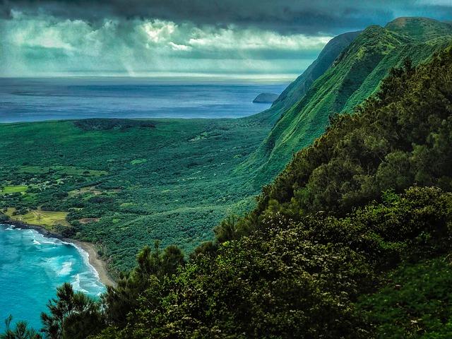 Havaj- sopečné ostrovy