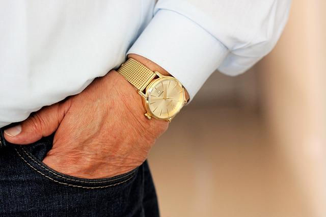 náramkové hodinky muže