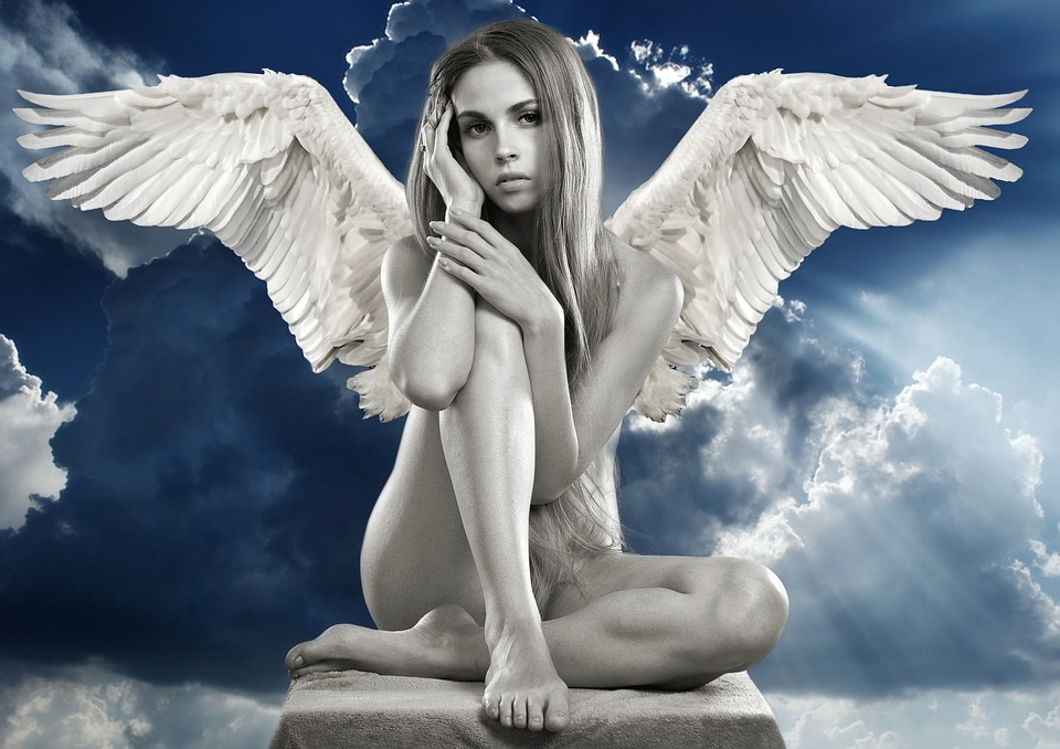nahý anděl
